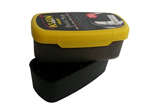 Kleen Shoes Quick Step : Instant Shoes Shine Sponge for all leather stuff and all leather colors : Great for home use and travel by KleenShoes